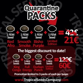 QUARANTINE PACK REGULAR SEEDS